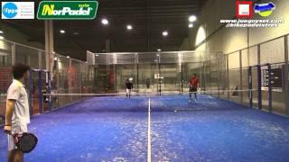 Torneo Norpadel Gijon FPPA - Raul Alvarez / Ignacio Lisa - Guillermo Santos / Antonio Gordon