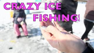 Риболовля на льоду в KANGHWA не (поруч з Північною Кореєю, 2 години від Сеула) + кращий суп женьшень#3