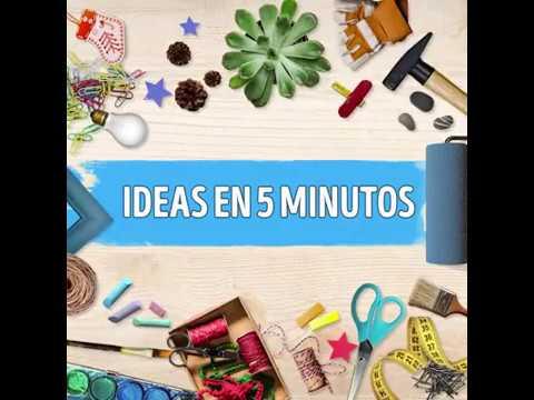 Ideas en 5 minutos con vaterias youtube for Ideas en cinco minutos
