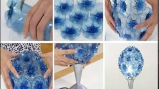Kerajinan Tangan dari Botol Bekas Kreatif Banget
