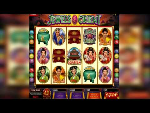 Review of Jewels of the Orient Online Pokies by megacasinobonuses.com.au