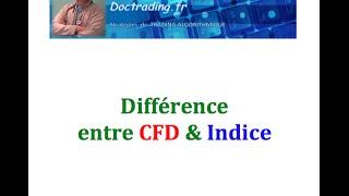 Différence entre indice et CFD : le Fra40 n'est pas le CAC40 !