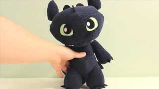 How to Train Your Dragon Toothless Plushie