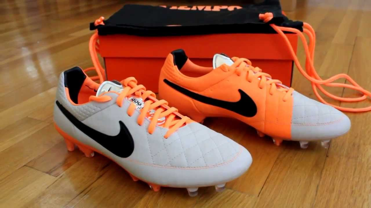 nike tiempo legend orange