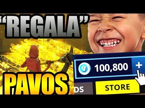 "SCAMER Dice Que Me  ""REGALA"" 100000 PAVOS GRATIS  - SCAMEANDO SCAMMERS"