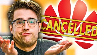 Welp - thats it for Huawei!