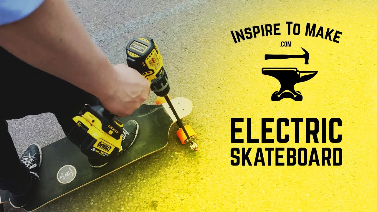 Cheap and Easy DIY Electric Skateboard