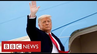 "Trump's last day as President: ""Movement we started only just beginning"" - BBC News"