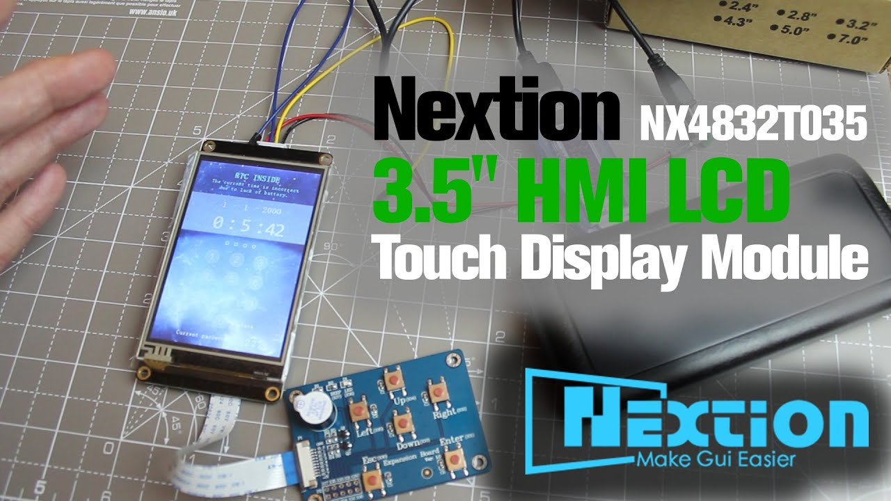ITEAD Nextion 3 5 inch Touchscreen Display/Board