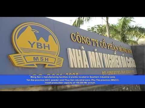 MONG SON Jsc., - mining, mfg Calcium carbonate powder in Vietnam