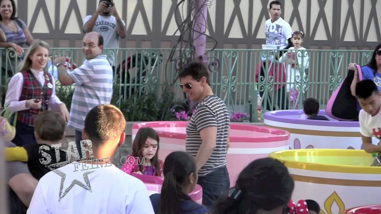 EXCLUSIVE: TOM CRUISE AND SURI SPEND THE DAY AT DISNEYLAND ...