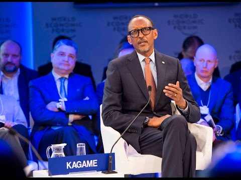 President Kagame speaks on Shaping National Digital Strategy at the World Economic Forum