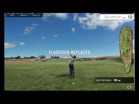 WGT World Golf Tour 2017 VUSO qualifying at Erin Hills, 54