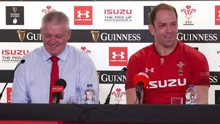 Press Conference: Warren Gatland and Alun Wyn Jones after Grand Slam win! | Guinness Six Nations