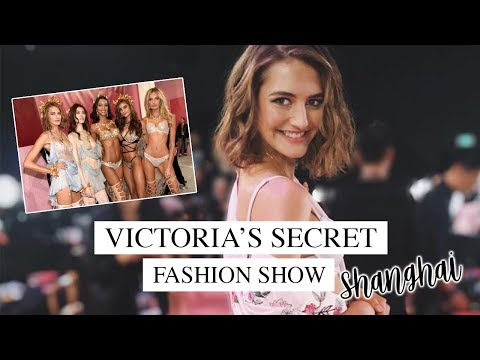 Victoria's Secret Show Shanghai | Backstage and Behind the Scenes | Sanne Vloet