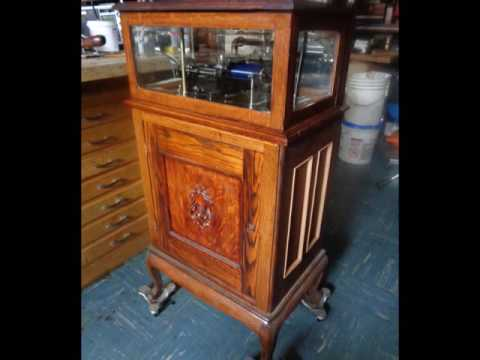 "Studio801-21 Shop Built Edison ""Coin-Op"" Phonograph"