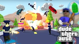 СИМУЛЯТОР КРУТОГО ЧУВАКА! GTA 5, MINECRAFT И POSTAL В ОДНОЙ ИГРЕ! - Dude Theft Wars: Open World
