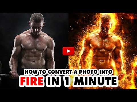 Fire Photoshop Action - Video Tutorial | Mesothelioma Attorney Directory Of Photoshop