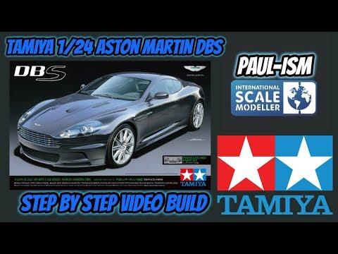 Tamiya 1/24 Aston Martin DBS Step by Step Pre-build review