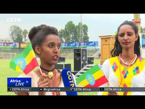 Ethiopia Flag Day: Thousands Of Ethiopians Observe Tenth Flag Day