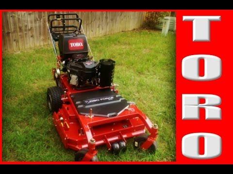 New Toro T Bar Floating Deck Mower Talk Youtube