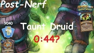 Hearthstone: Master Oakheart Taunt Druid Post-Nerf #10: Witchwood (Bosque das Bruxas) - Standard