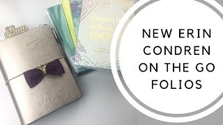 THE NEW ERIN CONDREN ON THE GO FOLIOS ARE HERE!