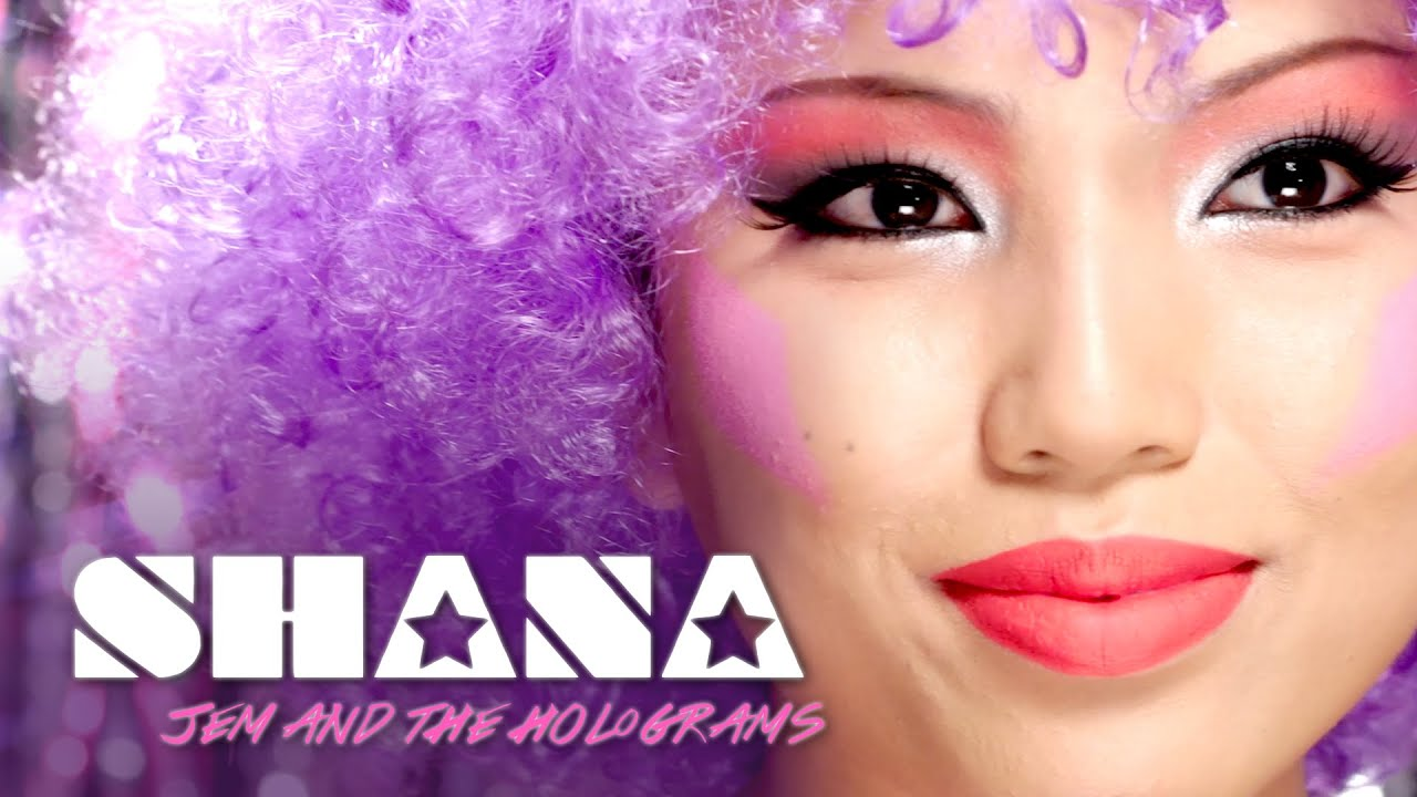 Jem and the holograms shana makeup tutorial face the movies w jem and the holograms shana makeup tutorial face the movies w promise phan youtube ccuart Images