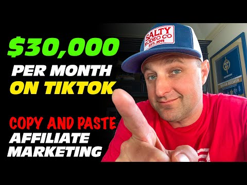 How I Make Money on TikTok with AFFILIATE MARKETING