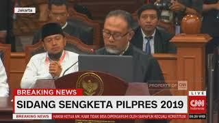 Baca Gugatan Pilpres, Tim Prabowo Ingatkan MK 'Guardian of The Constitution'