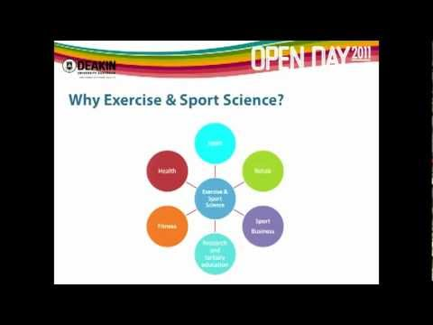 Exercise and Sport Science at Deakin University