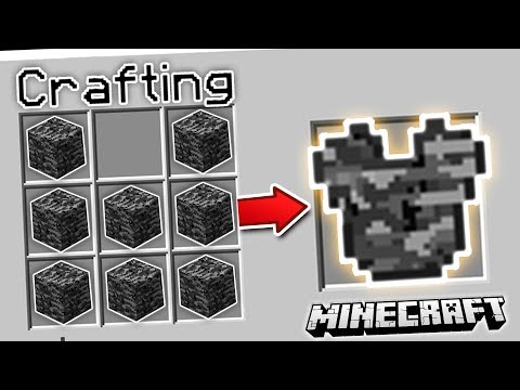 CRAFT ANY BLOCK INTO ARMOR | Minecraft Mods