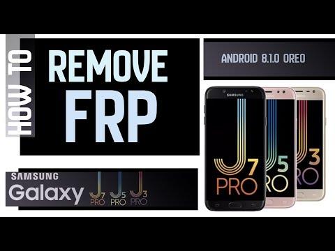 Bypass Google Account FRP SAMSUNG GALAXY J3 Pro, J5 Pro, J7 Pro Without Computer