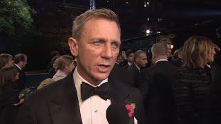 SPECTRE World Premiere Interviews - Daniel Craig, Lea Seydoux, Christoph Waltz, Monica Bellucci
