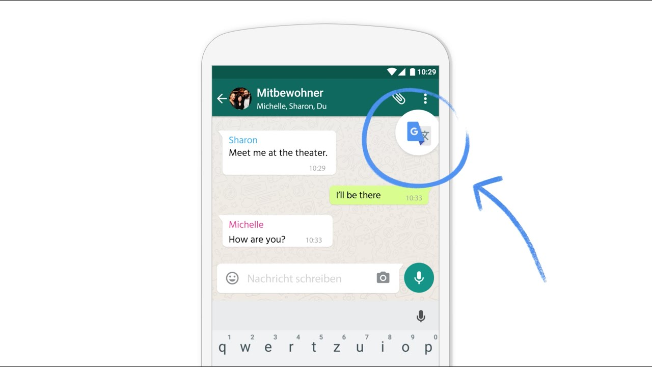 Google übersetzer Tap To Translate
