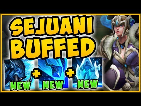 WTF WHY IS RIOT GIVING A TANK THIS MUCH DMG?? SEJUANI TOP SEASON 9 GAMEPLAY - League of Legends