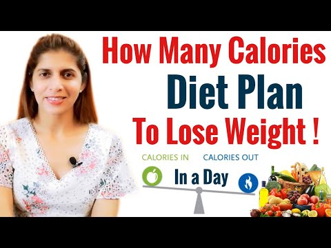 How Many Calories in a Day | Best Calorie Diet plan to Lose Weight | Calories In vs Calorie Out