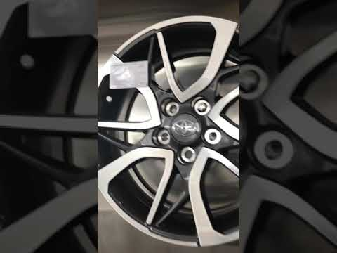 Цена на новые оригинальные диски Toyota 17.05.2018