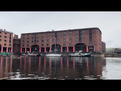 Boat Tour of Liverpool's South Docks