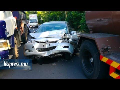 Terre-Rouge–Verdun: une voiture percute violemment un camion