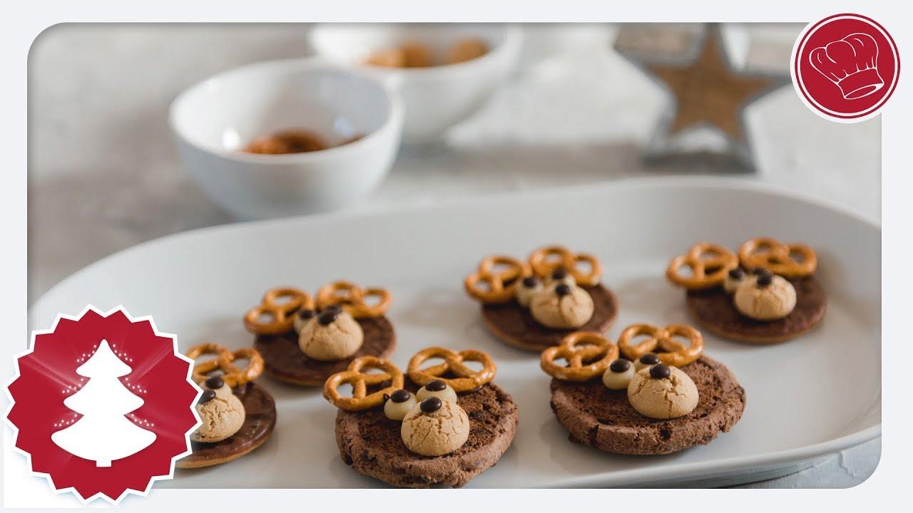 Rentiere Aus Keksen Tolle Geschenkidee Zu Weihnachten Elegant Kochende