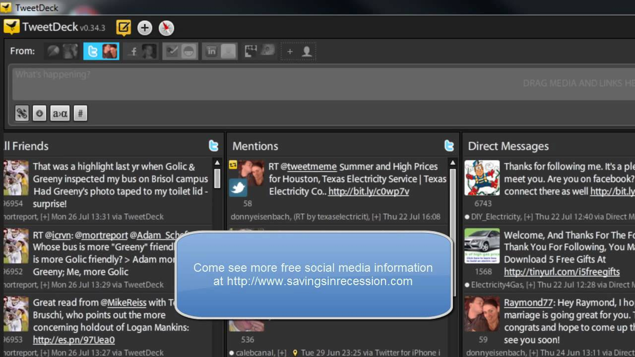 Part 3  Making Money With Tweetdeck Configured With A Twitter Account How  To