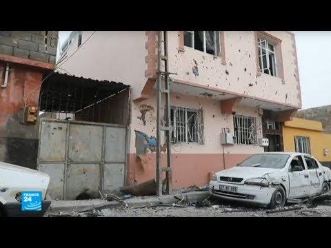 المقاتلون الأكراد يردون على أنقرة بقذائف صاروخية تجتاز الحدود  - نشر قبل 2 ساعة