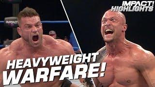 Killer Kross vs Brian Cage | IMPACT! Highlights Mar 29, 2019