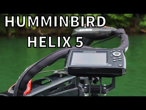 Humminbird Helix 5 W/GPS | Fish Finder Overview