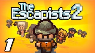 The Escapists 2 - DEAD RAT IN MY POCKET - Episode 1 (Escapists 2 Gameplay Playthrough)