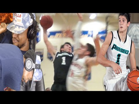 OMG BEST WHITEBOY I'VE EVER SEEN!! GRAYSON ALLEN HIGH SCHOOL MIXTAPE REACTION!