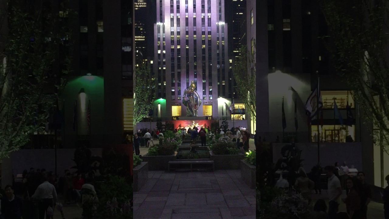 490ac2c9a17 Rockefeller Center at Night with