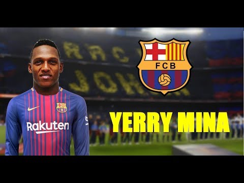 Yerry mina 2018 welcome to fc barcelona defending skills yerry mina 2018 welcome to fc barcelona defending skills tackles stopboris Gallery