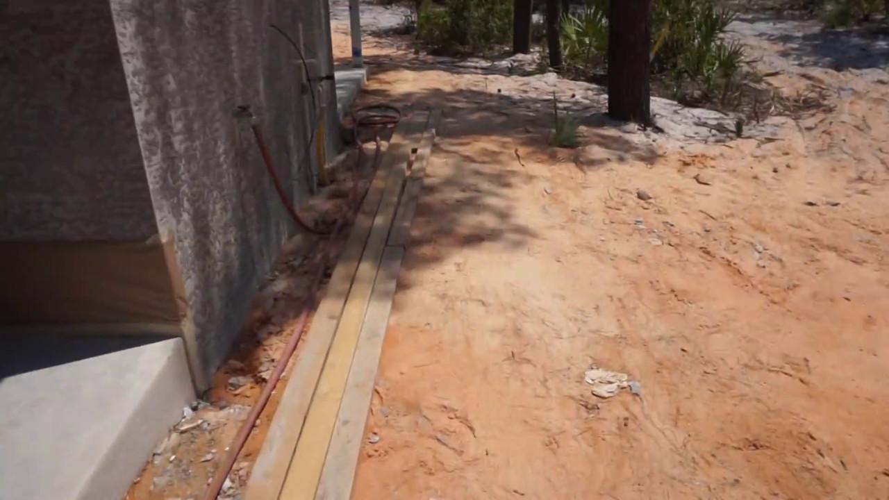 Indoor/outdoor Slab Concrete Acetone Stain CLIP1